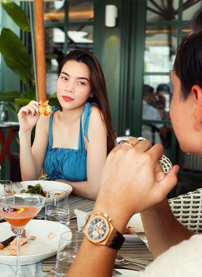 Hà Hồ quả là số hưởng: Cuối tuần được con trai vào bếp nấu ăn tẩm bổ, Kim Lý quấn lấy vợ bầu không rời! - ảnh 7