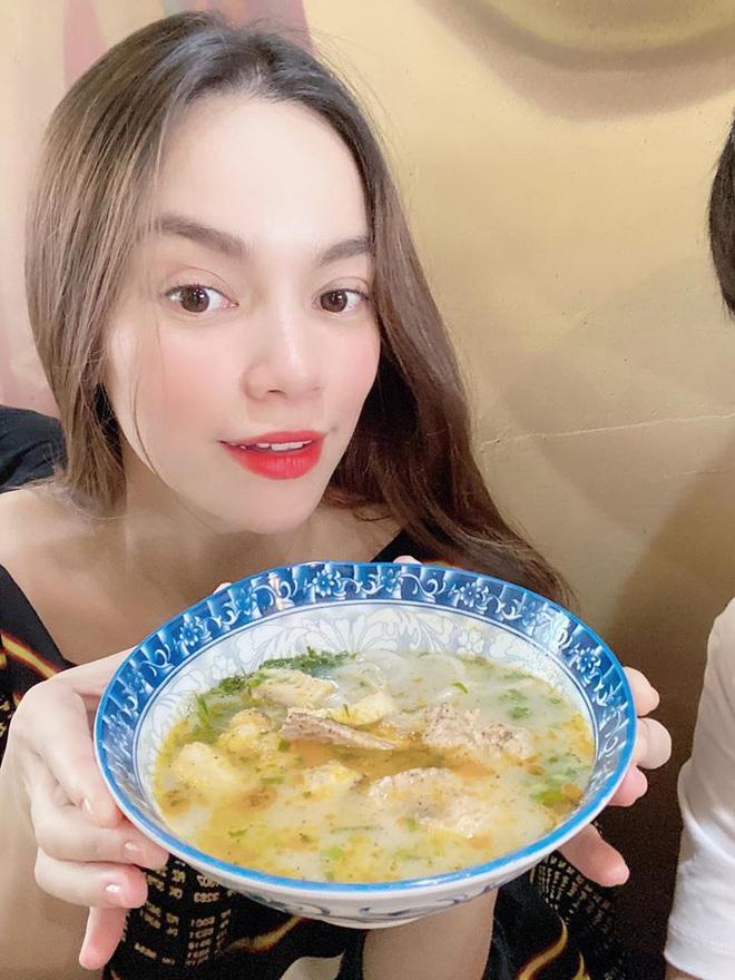 Hà Hồ quả là số hưởng: Cuối tuần được con trai vào bếp nấu ăn tẩm bổ, Kim Lý quấn lấy vợ bầu không rời! - ảnh 5