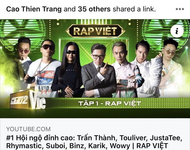 Rap Việt thắng lớn: Ngay tập đầu tiên đã nhận cơn mưa lời khen, phủ sóng mạng xã hội! - ảnh 2
