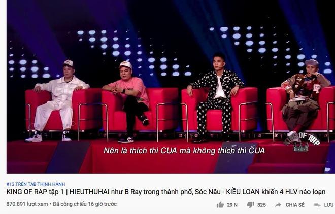 Hai TV Show về Rap quyết lên sóng đối đầu trong một đêm: Rap Việt vượt lên King Of Rap về hiệu ứng lan tỏa! - ảnh 2