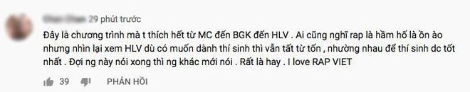 Rap Việt thắng lớn: Ngay tập đầu tiên đã nhận cơn mưa lời khen, phủ sóng mạng xã hội! - ảnh 4