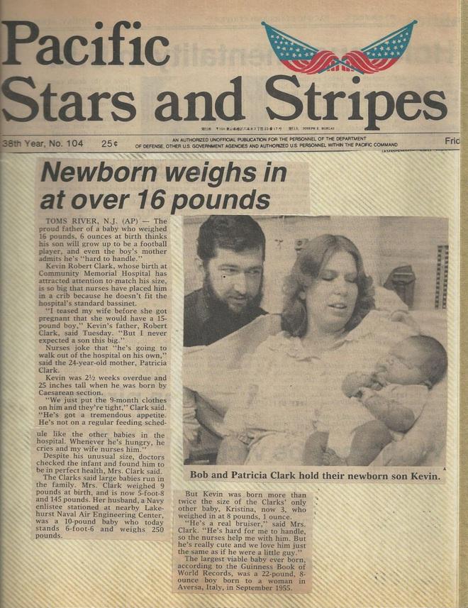 Bé trai lọt lòng với cân nặng 7,4kg từng khiến nước Mỹ phát cuồng săn đón trong hơn 3 thập kỷ giờ ra sao? - ảnh 4