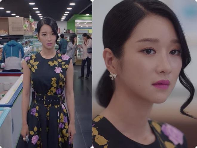Cả phim đẹp mê hồn, gần cuối phim Seo Ye Ji lại để kiểu tóc xoăn mái già câng - ảnh 7