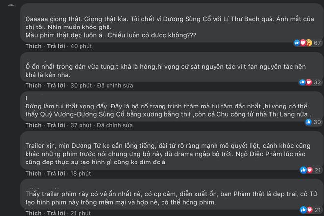 Thanh Trâm Hành tung trailer bất ngờ: Dương Tử tự lồng tiếng, Ngô Diệc Phàm diễn bớt đơ rồi! - ảnh 7