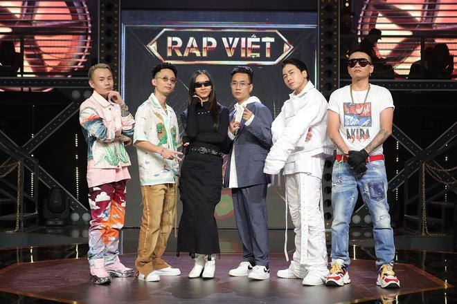 Soi info khủng bộ tứ HLV Rap Việt: Toàn đại gia, hết gây bão vì rap trước Tổng thống Obama đến lên thảm đỏ LHP quốc tế - ảnh 1