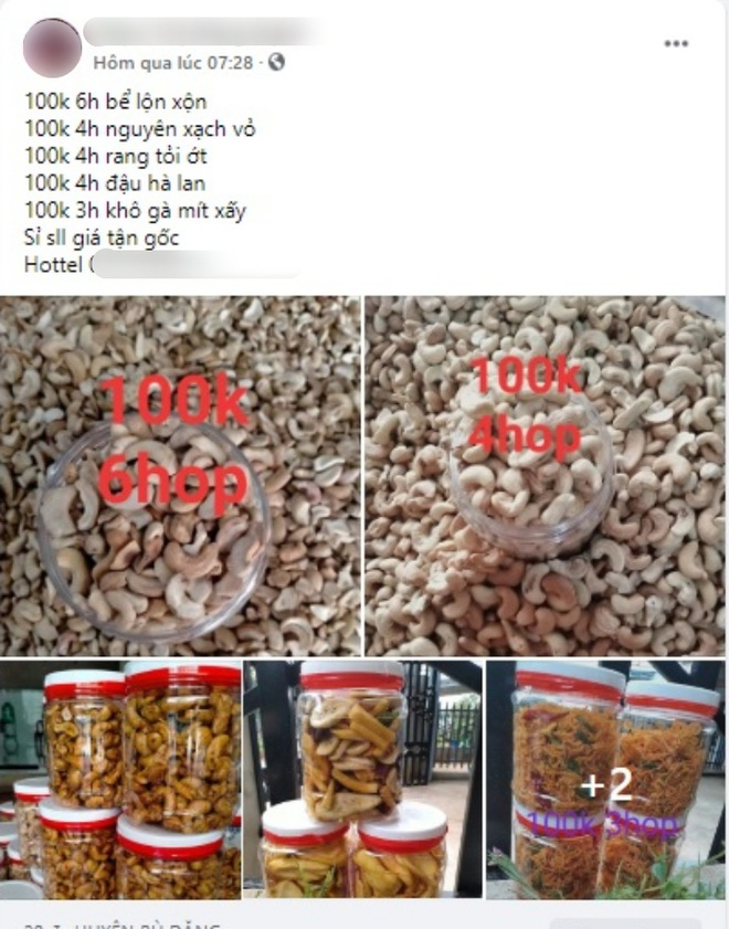 """Ăn thử hạt điều siêu rẻ 100k⁄4-6 hộp: Ngon đấy nhưng không ngồi """"soi"""" từng hạt thì cẩn thận kẻo rước bệnh vào người - Ảnh 1."""