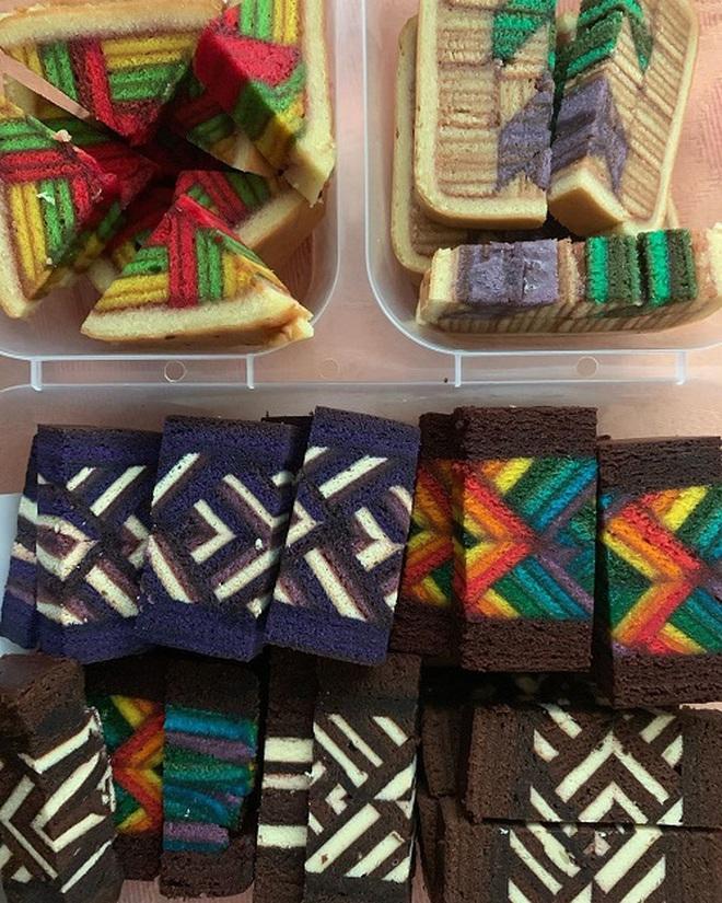 Món bánh siêu cầu kỳ của Malaysia đến thợ chuyên nghiệp còn thấy khó làm: Đẹp không nỡ ăn - Ảnh 8.