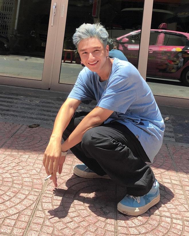 Hot boy Rap Việt 16 Typh: Visual đỉnh khiến Karik phải mê mẩn, diện đến 1001 kiểu tóc đều hợp không phải bàn - Ảnh 2.