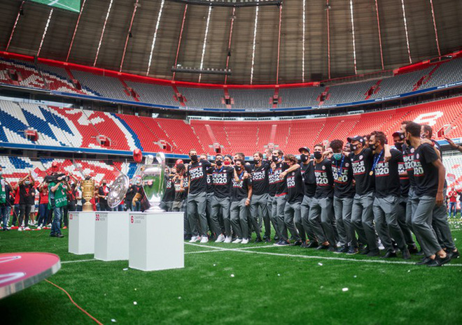 Lễ Mừng Cong Lặng Lẽ Của Bayern Tren San Khong Khan Giả