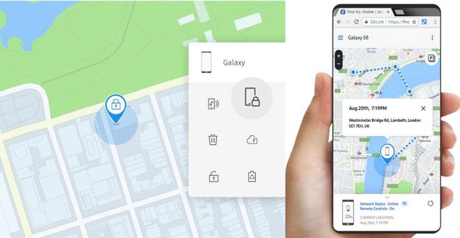 Ứng dụng Find My Mobile của Samsung giúp tìm điện thoại ngay cả khi bị tắt nguồn - ảnh 1