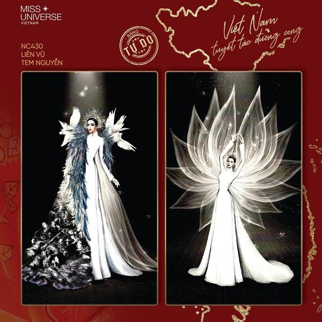 Lộ diện Top 4 bảng tự do và All Star Quốc phục cho Khánh Vân tại Miss Universe 2020: Có bộ gây tranh cãi dữ dội! - Ảnh 9.