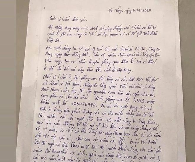 Nhường ký túc xá làm phòng cách ly, nữ sinh Đà Nẵng để lại lời nhắn cùng món quà siêu dễ thương dành cho người lạ - ảnh 1