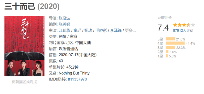 30 Chưa Phải Là Hết rò rỉ bản full, điểm Douban giảm mạnh vì cái kết nhạt nhẽo - ảnh 2