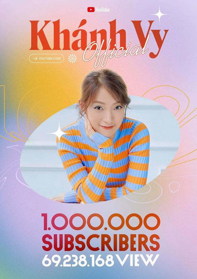 """""""Hotgirl 7 thứ tiếng"""" Khánh Vy đã tốt nghiệp ĐH bằng Giỏi, kênh YouTube đạt 1 triệu subscribers - ảnh 1"""