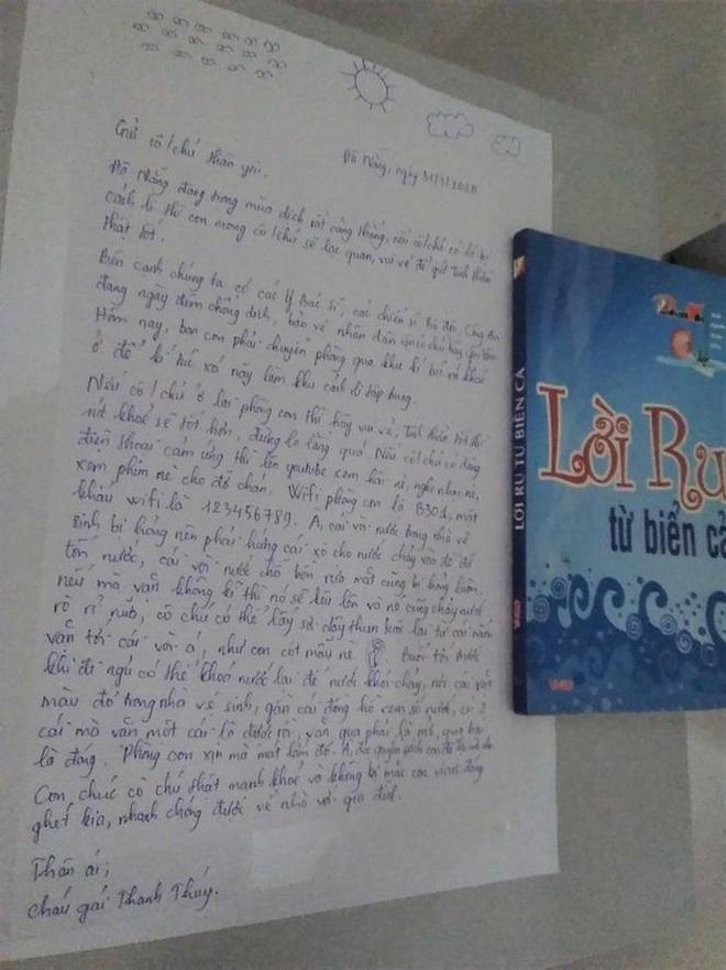 Nhường ký túc xá làm phòng cách ly, nữ sinh Đà Nẵng để lại lời nhắn cùng món quà siêu dễ thương dành cho người lạ - ảnh 2