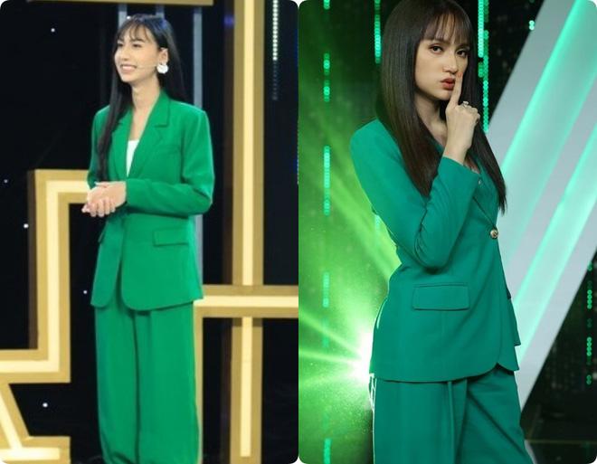 5 lần 7 lượt Lynk Lee ăn diện đặc sệt Hương Giang: Là học hỏi phong cách hay muốn làm bản sao của Hoa hậu chuyển giới? - ảnh 3