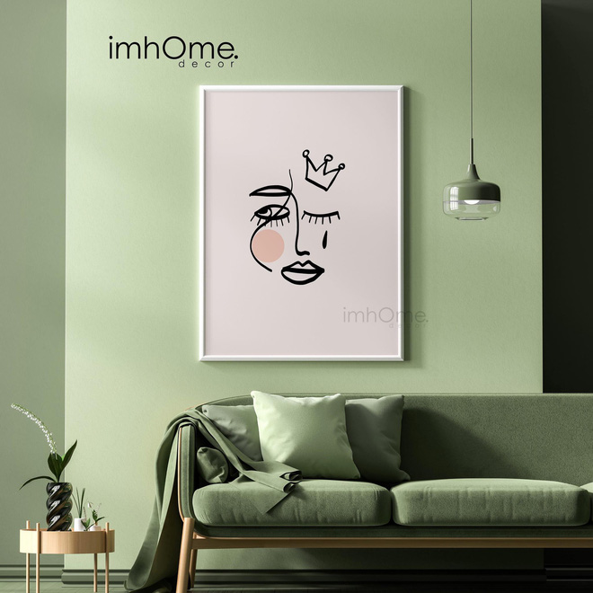 Muốn căn phòng của mình xịn sò như ảnh trên Pinterest, hội mê decor nhất định phải sắm một bộ tranh treo tường - ảnh 6