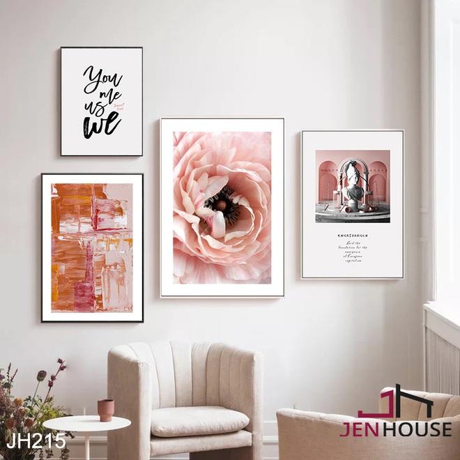 Muốn căn phòng của mình xịn sò như ảnh trên Pinterest, hội mê decor nhất định phải sắm một bộ tranh treo tường - ảnh 8
