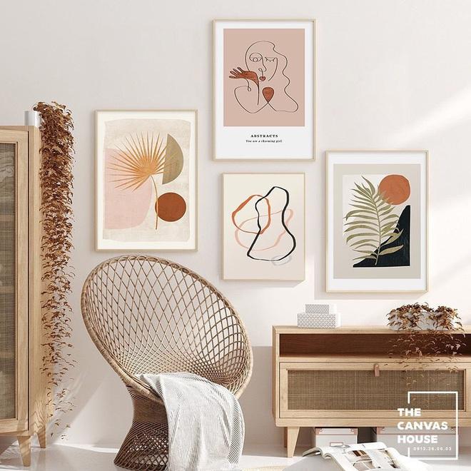 Muốn căn phòng của mình xịn sò như ảnh trên Pinterest, hội mê decor nhất định phải sắm một bộ tranh treo tường - ảnh 4
