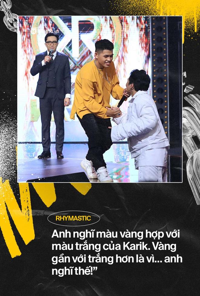 Đổ rạp trước những màn cà khịa đáng yêu của dàn sao Rap Việt! - ảnh 2