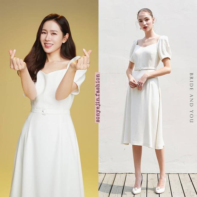 Irene xinh như tiểu thư quý tộc, át vía cả chị đẹp Son Ye Jin khi diện chung váy - ảnh 5