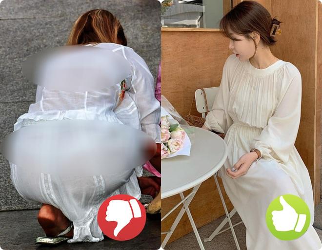 Cứ nghĩ áo váy màu trắng là thanh lịch nhất rồi, nào ngờ cũng đầy rẫy thảm họa nhé các nàng ơi! - ảnh 3