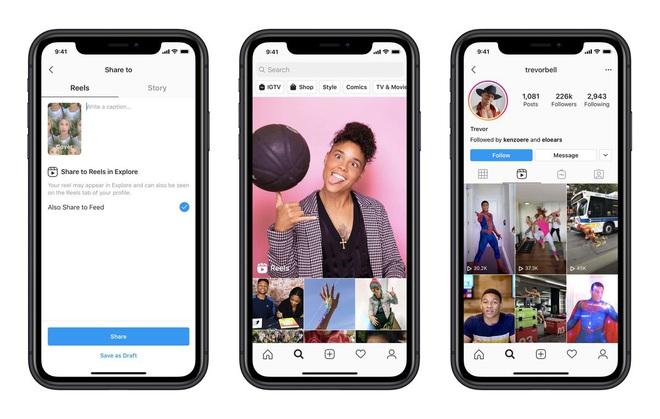 Instagram chính thức update tính năng mới, copy y hệt giao diện TikTok, chuẩn bị cập nhật toàn cầu - ảnh 1