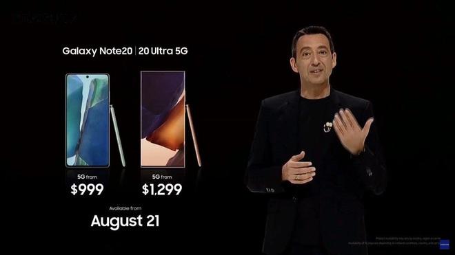 Một chiếc Samsung Galaxy Note20 Ultra sẽ đổi được bao nhiêu cốc trà sữa, bao nhiêu bịch bánh tráng trộn? - ảnh 1