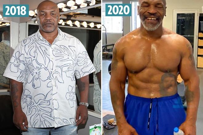 Trước ngày tái xuất, Mike Tyson khoe body căng đét cùng cơ bắp đáng ngưỡng mộ ở tuổi 54 - ảnh 3