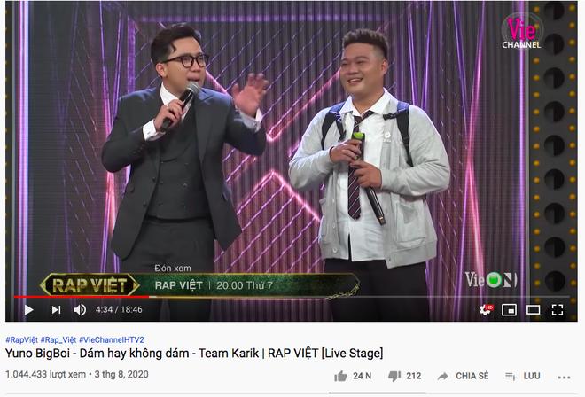 2 màn trình diễn kéo nhau lên top trending giúp King Of Rap dẫn trước Rap Việt về số lượng, nhưng vẫn không thể hạ gục #1 vững vàng của đối thủ - ảnh 1