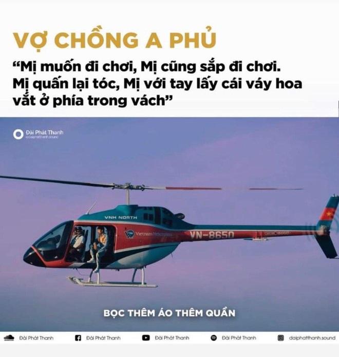 Bức ảnh viral nhất MXH hôm nay: Chỉ là Đen Vâu ngồi trên trực thăng thôi mà mổ xẻ ra được 1500 thuyết âm mưu! - ảnh 4