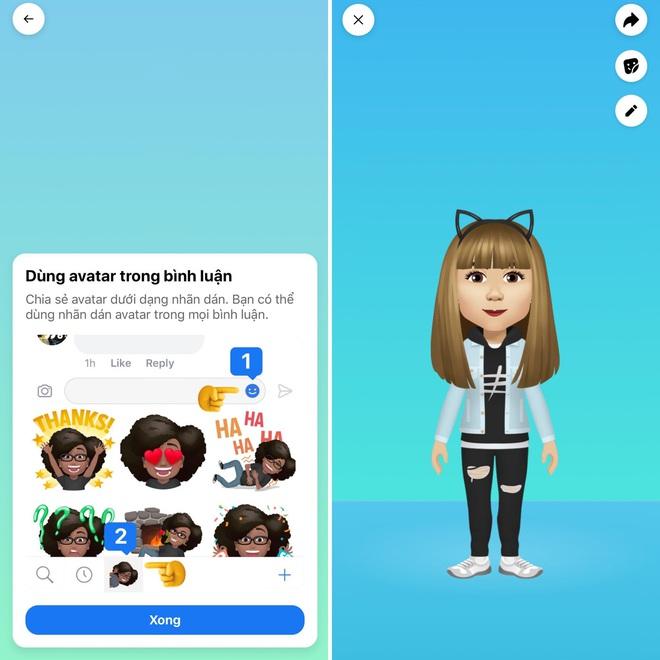 Bắt ngay trend tạo emoji cá nhân cực chất chơi vừa được Facebook cập nhật mới - ảnh 5