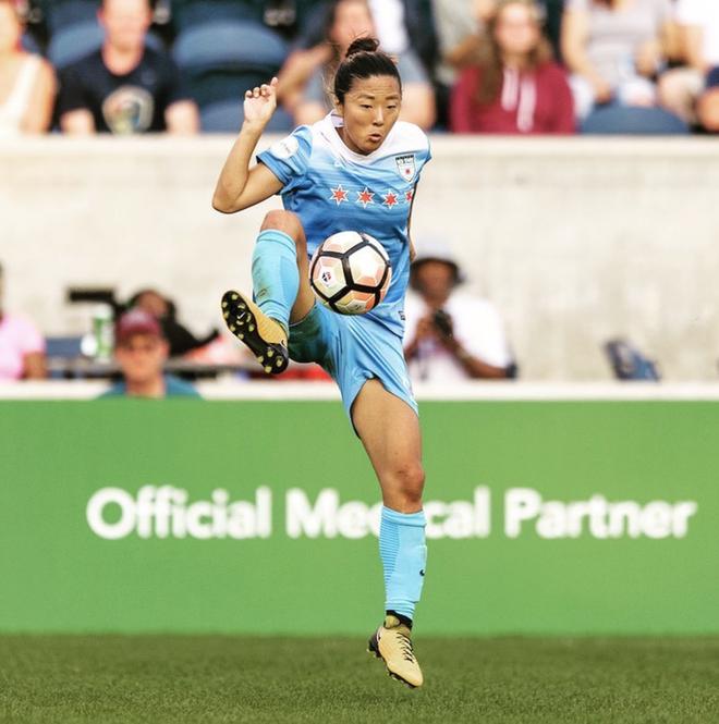 Chuyện thật như đùa: Nữ cầu thủ từng vô địch World Cup đầu quân cho... một đội bóng nam tại Nhật Bản - ảnh 2
