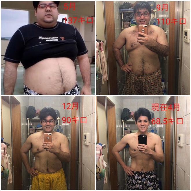 Chàng béo người Nhật giảm 68kg trong 1 năm chia sẻ bí quyết: Ăn uống đúng cách cũng có thể giảm đến 30kg chất béo - ảnh 4