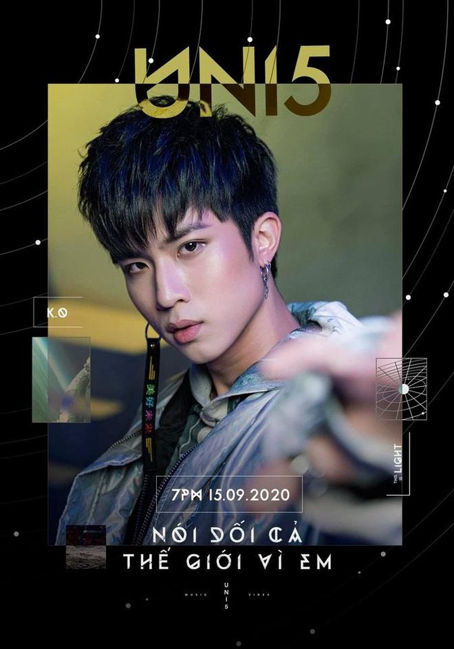 """Uni5 tung teaser MV comeback rất hoành tráng nhưng netizen bất bình vì nghe như nhạc Hàn hát tiếng Việt làm bài hát """"ngang phè"""""""