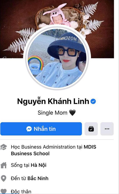 """Biến căng cực: Khánh Linh nhận là """"single mom"""", độc thân và xoá sạch ảnh chụp chung kể cả ảnh ăn hỏi cùng Tiến Dũng - Ảnh 1."""