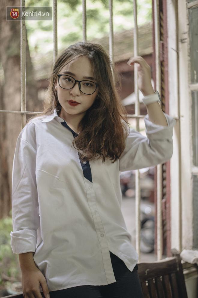 Gặp nữ sinh chiếm trọn spotlight mùa #Back2school của THPT Trần Phú nhờ giảm 10kg, diện áo dài cực đẹp - ảnh 2