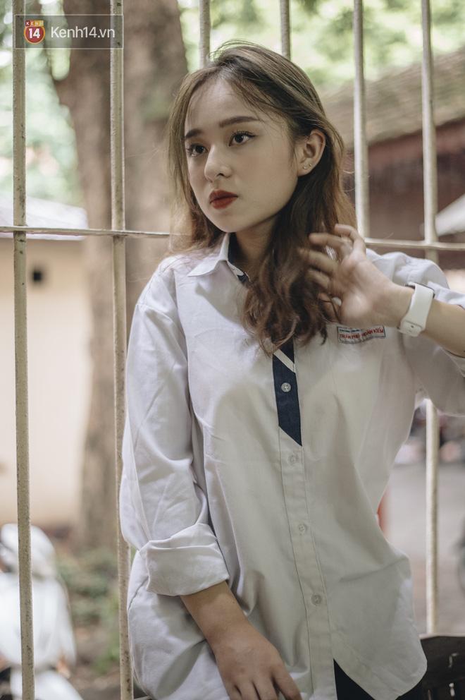 Gặp nữ sinh chiếm trọn spotlight mùa #Back2school của THPT Trần Phú nhờ giảm 10kg, diện áo dài cực đẹp - ảnh 7