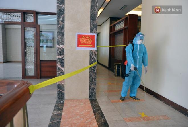Chùm ảnh: Các khách sạn tại Hà Nội đã sẵn sàng là nơi cách ly có thu phí khi đường bay quốc tế mở lại - ảnh 6