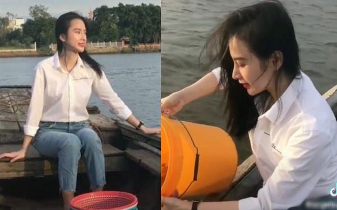Lộ diện sương sương trong clip mới, Angela Phương Trinh gây sốt với visual giản dị: Góc nghiêng xinh động lòng người! - ảnh 3