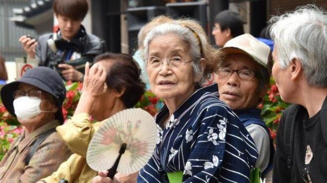 Số người già trên 100 tuổi của Nhật Bản nhiều nhất thế giới - ảnh 1