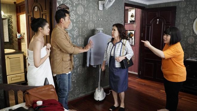 Mải mây mưa với người yêu, Trương Quỳnh Anh bị mẹ chồng tương lai bắt sống tại giường ở trailer Trói Buộc Yêu Thương - ảnh 9