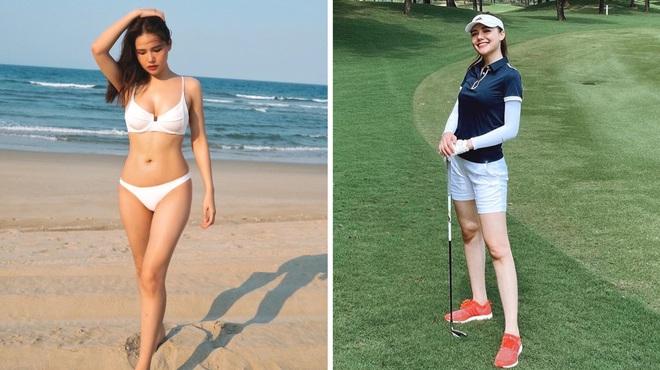 So ảnh gái xinh mặc bikini với khi lên đồ chơi golf: Dáng chuẩn, eo thon thì mặc hở kín gì cũng đẹp mê - ảnh 17