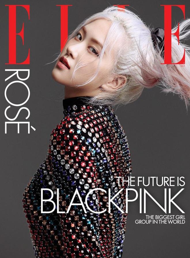 BLACKPINK lên hẳn bìa Elle Mỹ: Ngất lịm với kiểu tóc già đanhcủa Jennie, Rosé xuất thần, Jisoo - Lisa vẫn một màu - ảnh 2