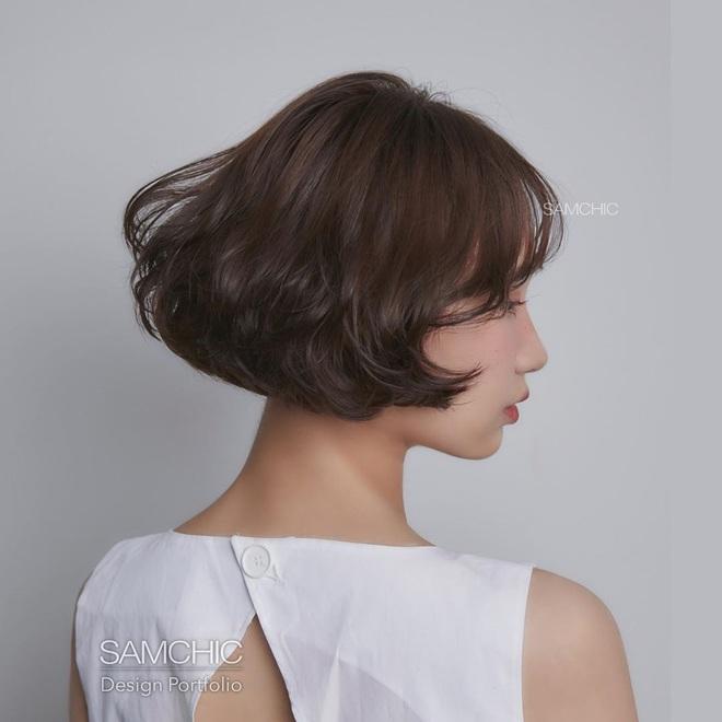 5 kiểu tóc uốn chuẩn mùa thu của sao Hàn, bạn diện theo vừa ăn gian tuổi siêu phàm lại còn sang xịn - Ảnh 5.