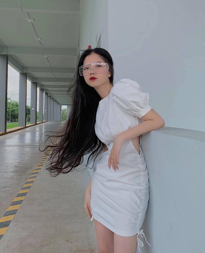 Lộ diện gái xinh cao 1m62, tóc siêu dài là đối thủ của hot girl bắp cần bơ tại The Face Vietnam! - ảnh 5