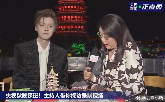 Luhan gây choáng với nhan sắc tuổi 30: Ma cà rồng hack tuổi đỉnh cao, chấp cả camera truyền hình quốc gia - ảnh 2