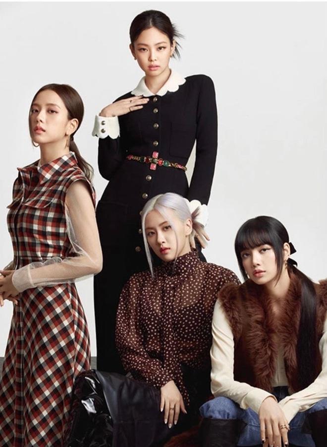 3 mỹ nhân đụng độ: Jennie, Tống Thiến đều sang như bà hoàng nhưng sao Kim Go Eun lại có biểu cảm khó phân định thế này? - ảnh 1