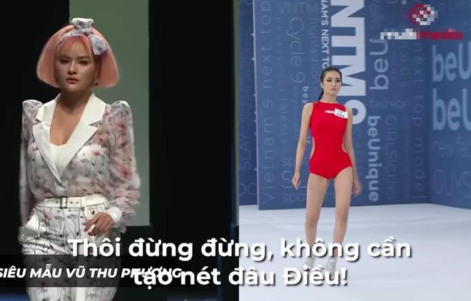 Next Top Model: Gái xinh tên độc Huỳnh Thị Biết Điều cosplay siêu mẫu Vũ Thu Phương - ảnh 1