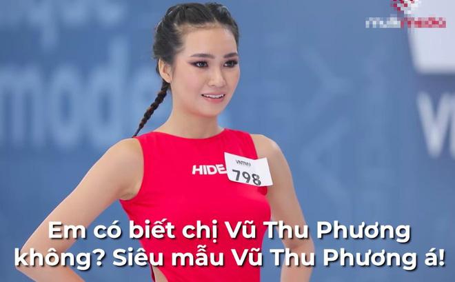 Next Top Model: Gái xinh tên độc Huỳnh Thị Biết Điều cosplay siêu mẫu Vũ Thu Phương - ảnh 2